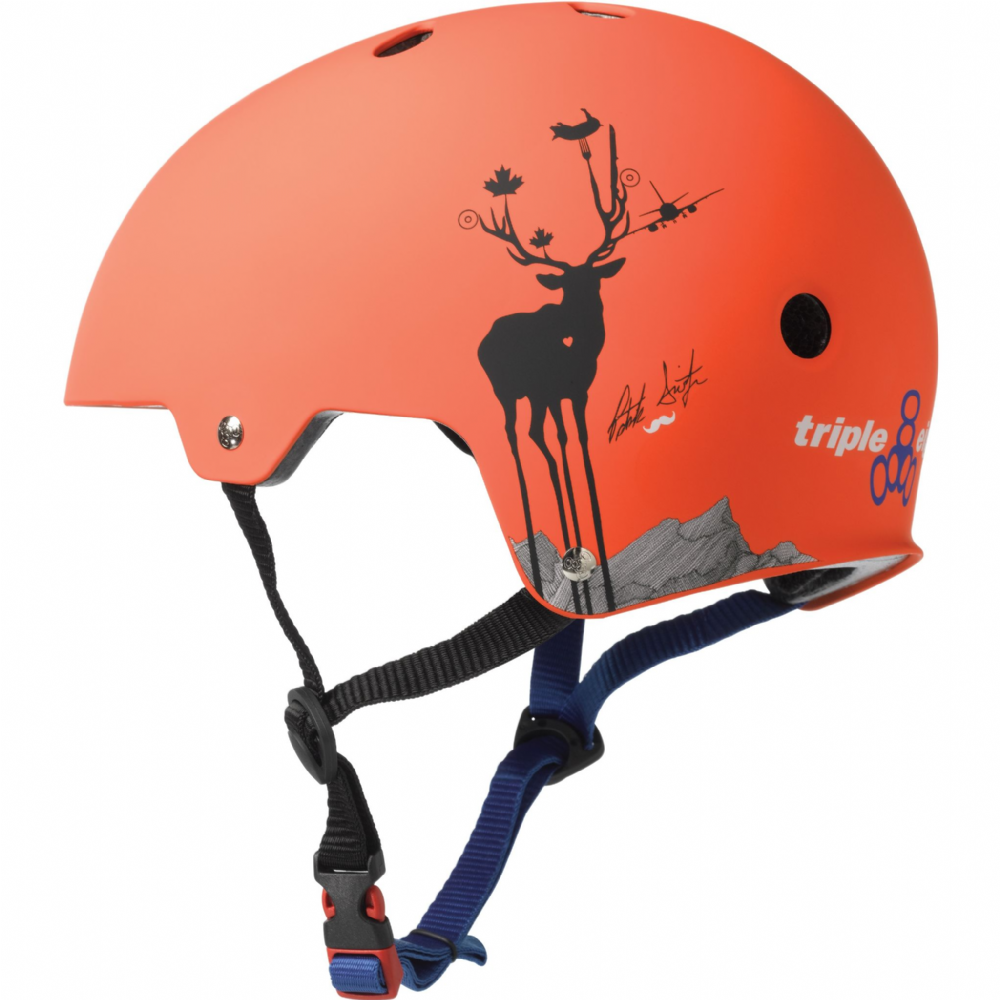 Triple 8 BrainSaver w/EPS Helmet - Patrick Switzer Pro